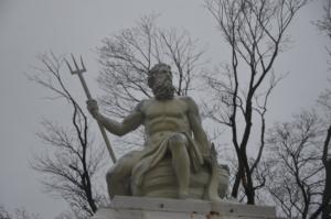 marbre sculpture poseïdon copenhague