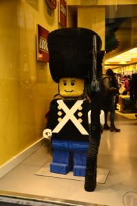 Soldat LEGO boutique copenhague