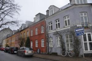 rue compenhague maison couleur